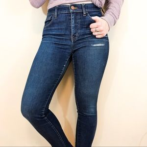 MADEWELL Medium Wash Skinny Jeans